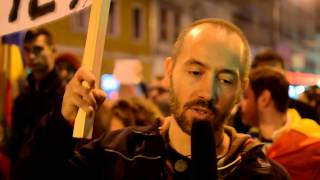 Huge protest in Cluj-Napoca, Romania - November 8th