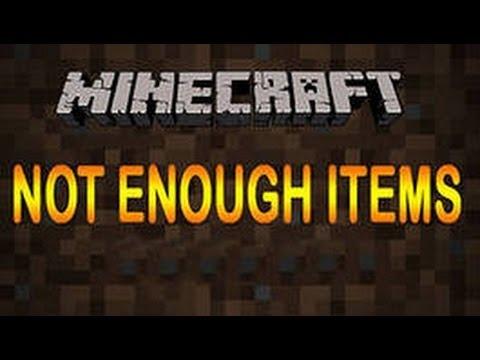 Как скачать мод not enough items для minecraft 1710 - 9c3