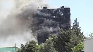 Azerbaycan'da ölümcül Yangın