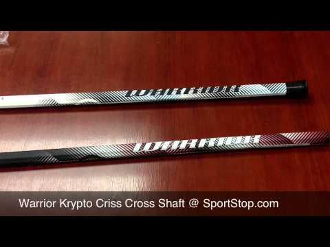 Warrior Krypto Pro Criss Cross 2013 Warrior Krypto Criss