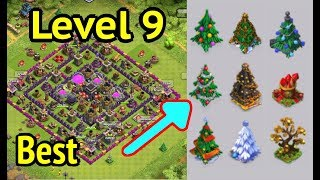 Clash of Clans: Best Town Hall 9 Layout and Easter Egg Obstacles