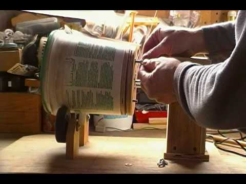 Homemade Brass Tumbler
