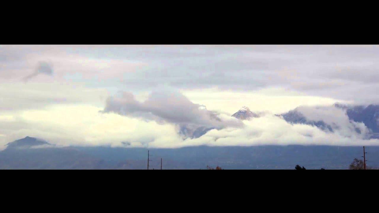 Sandia Mountains Snow Sandia Mountains on a Cloudy