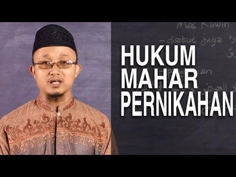 Serial Fikih Keluarga (20): Hukum Mahar Pernikahan - Ustadz Aris Munandar