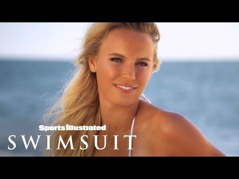 Caroline Wozniacki Uncovered   Sports Illustrated Swimsuit 2015