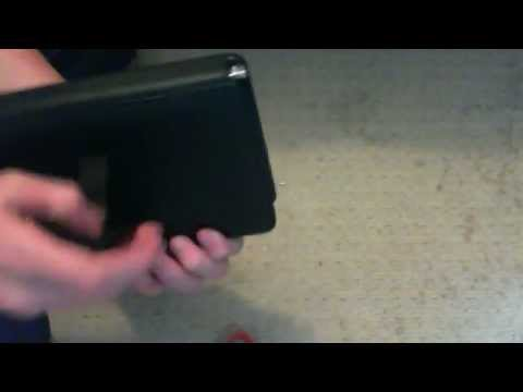 inch Tablet PC USB Keyboard Leather Case Unboxing