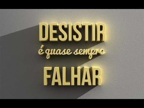 Texto usando ferramentas 3D do Photoshop