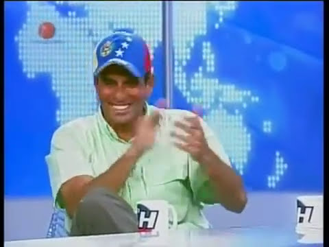 Entrevista a Henrique Capriles Radonski en Chataing TV Video 3