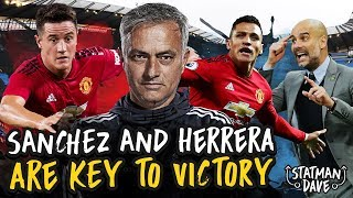 Sanchez & Herrera NEED to Start The Manchester Derby!!!   Predicted XI, Formation and Tactics