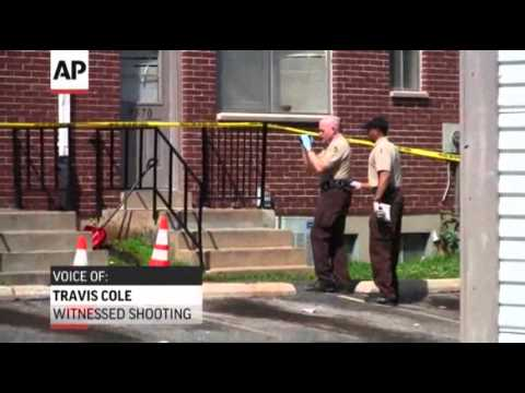 Raw: 1 Dead in Shooting at Mo. Apartment Complex
