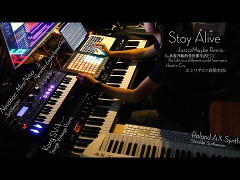 "[JazzzzMaybe]Re:0 ED2 ""Stay Alive"" -Remix-"