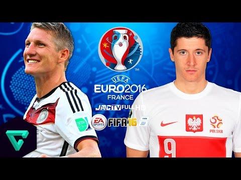 Germany vs. Poland | UEFA Euro 2016 | FIFA 16