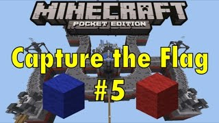 Lifeboat Capture The Flag #5 I'M THE SECRET WEAPON - Minecraft Pocket Edition