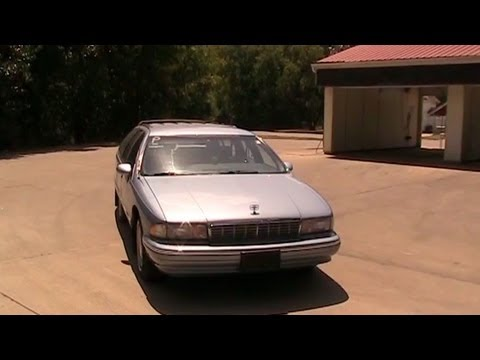 1993 Chevrolet Caprice Classic Station Wagon Test Drive