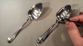 Realism Challenge #1 How to Draw Spoon  - Cool Realistic Drawing