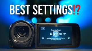 01. BEST SETTINGS For The Canon Legria HF R806 | Why I Don't Use The P mode | Average Filmmaker