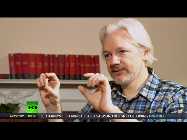 Assange: Google has revolving doors with State Dept (EXCLUSIVE)