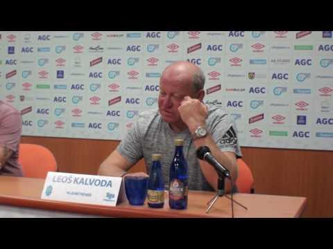 Tisková konference hostujícího trenéra (19.8.2016)