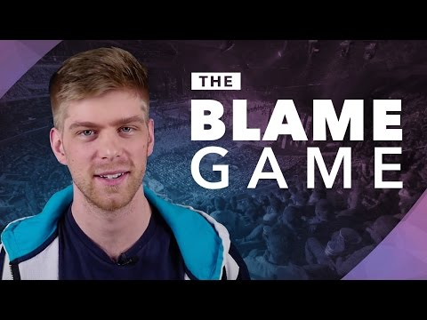 The Blame Game Worlds 2016 Semis: Two Mids getting bodied and H2K's draft