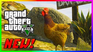 "GTA 5 PS4 & Xbox One ""PLAY AS AN ANIMAL"" - NEW Peyote Plants Location! (GTA V PS4 Gameplay)"