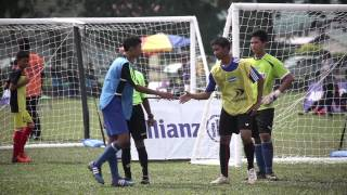 ALLIANZ JUNIOR FOOTBALL CAMP PULAU PINANG LEAGUE 2015