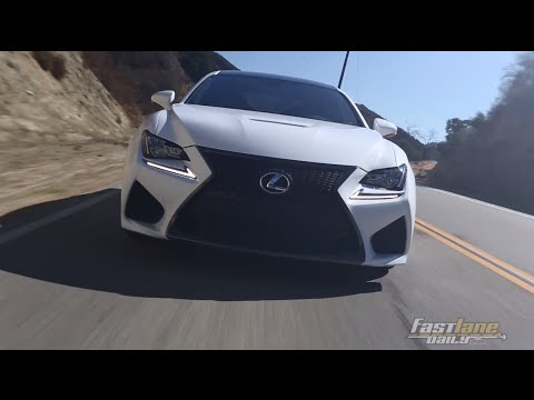 2015 Lexus RC-F Review - Fast Lane Daily
