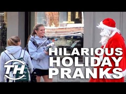 Hilarious Holiday Pranks - Jaime Neely Discusses Her Top Five Picks for Festive Fooling