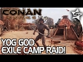Conan: Exiles Gameplay - BARBARIAN EXILE YOG CAMP RAID, ALLIGATOR ATTACK AND... Ostriches? - Part 5 MP3