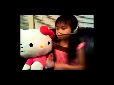 Little girl sings Call Me Maybe (Cover) - Carly Rae Jepsen
