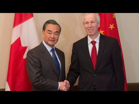 Stephane Dion silent while China's foreign minister bashed press freedom