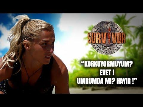 Sema'dan bomba Survivor 2018 mesajı!