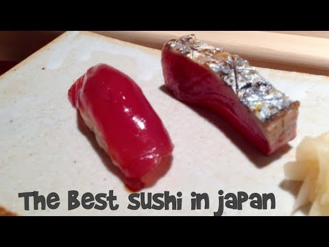The Best Sushi in Japan