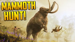Far Cry Primal: Hunting a Mammoth, GONE WRONG | Gameplay PS4
