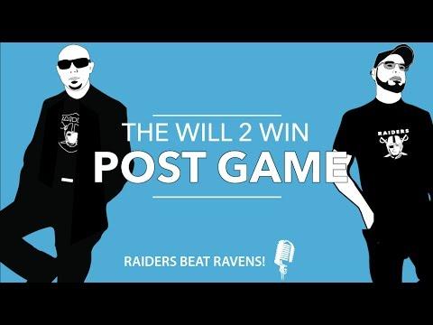 Raiders vs Ravens instant recap and review Post Game Show Oakland raiders vs Baltimore Ravens