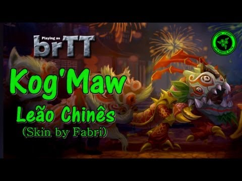Kog'Maw Leão Chinês by brTT duo Xpeon