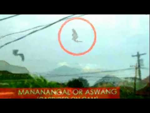 MANANANGGAL OR ASWANG (Captured on cam)