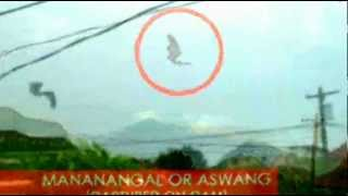 MANANANGGAL OR ASWANG (Captured on cam)