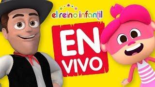El Reino Infantil EN VIVO 🔴 Las mejores canciones infantiles de La Granja de Zenón y más 😍