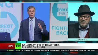 "Galloway: ""Nigel Farage has been on BBC more than any other political leader"""