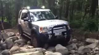 Discovery 3 offroad ロック