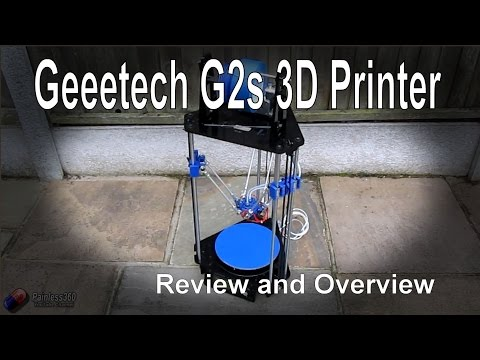 RC Reviews – Geeetech Rostock G2s Pro 3D Printer (from Banggood.com)