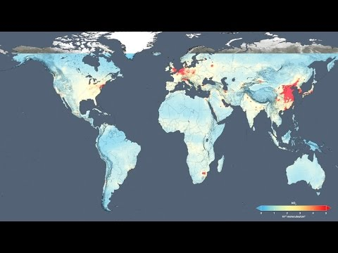 NASA | Human Fingerprint on Global Air Quality