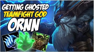 GETTING GHOSTED ON THE TEAMFIGHT GOD, ORNN | League of Legends