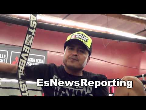 robert garcia talks manny pacquiao EsNews boxing