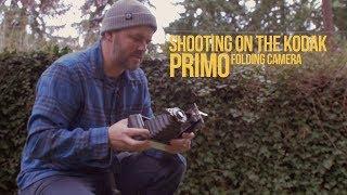 Shooting Film in a folding Kodak Primo