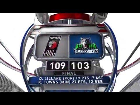 Portland Trail Blazers vs Minnesota Timberwolves - December 5, 2014