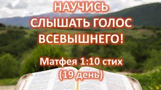 Изучаем вместе  Матфея 1-я глава,  10 стих (19 день ) Жизнь и смерть царя Иосии