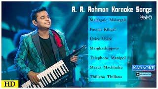 Ar Rahman Karaoke Songs Vol 2 Tamil Karaoke Songs Best Of Ar Rahman Karaoke Music Master