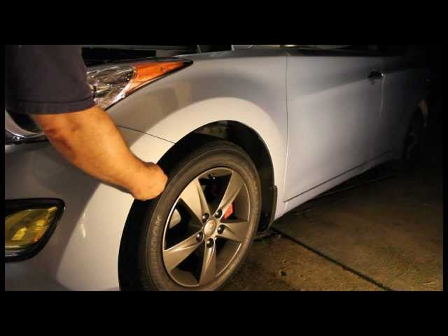 How to remove the bumper from a 2011+ Hyundai Elantra ...