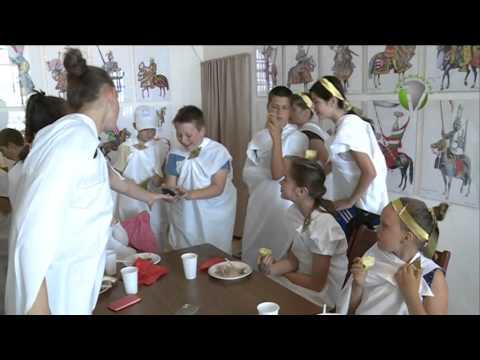 Egy hetes római tábort szervezett a tatai Kuny Domokos Múzeum